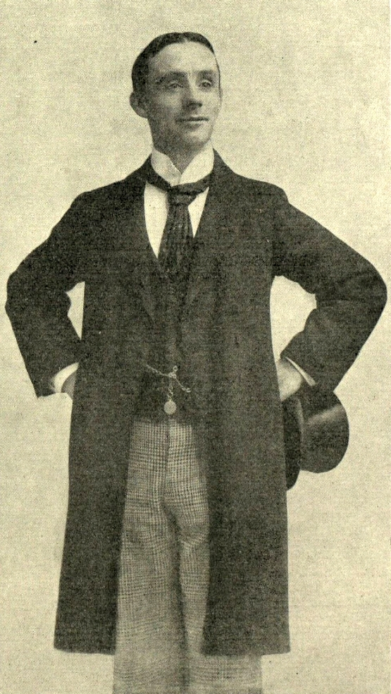 Dan Leno, from his autobiography Dan Leno, Hys Booke (1899)