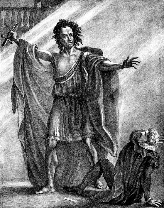 T.P. Cooke as the Creature, from a painting by Thomas Wageman, at New York Public Library Digital Collections
